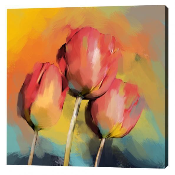 Mooie bloemen schilderijen
