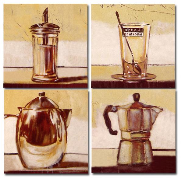 Olieverfschilderij keuken kunst voor in huis for Kunst keuken