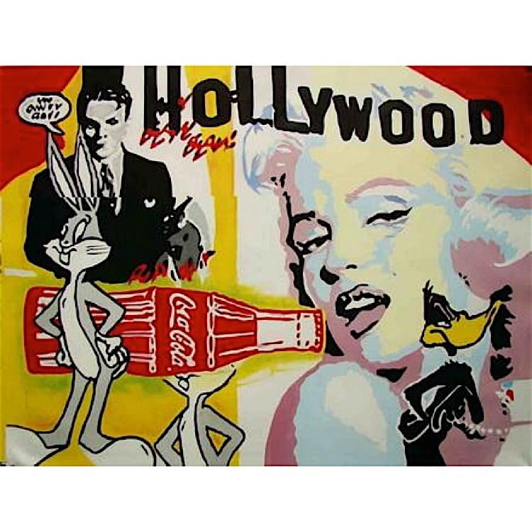 Schilderij Hollywood foto 1