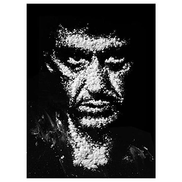 Welp Schilderij Scarface zwart wit | Kunst voor in huis XH-51