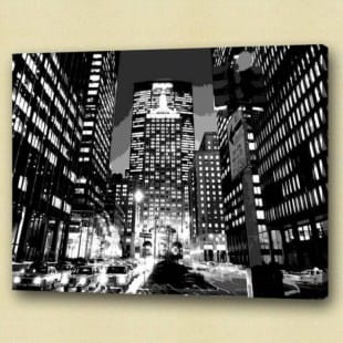 Olieverf schilderij Big City of Dreams foto 1