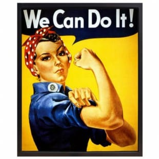 Olieverfschilderij We Can Do It! foto 1